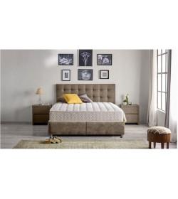 Κρεβάτι FS με αποθηκευτικό και στρώμα 150Χ200