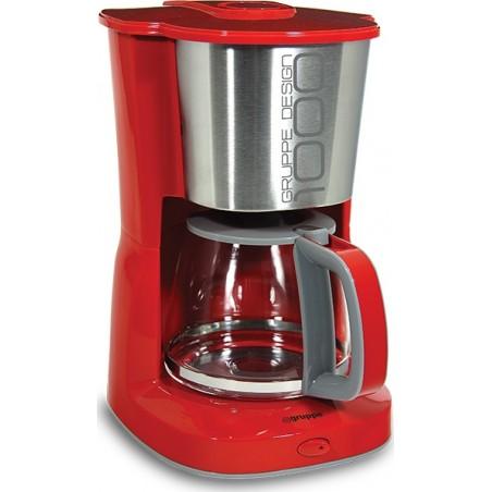 Καφετιέρα Φίλτρου Gruppe CΜ331ΒΕ Κόκκινη